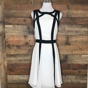 NEW Banana Republic Black & White Dress